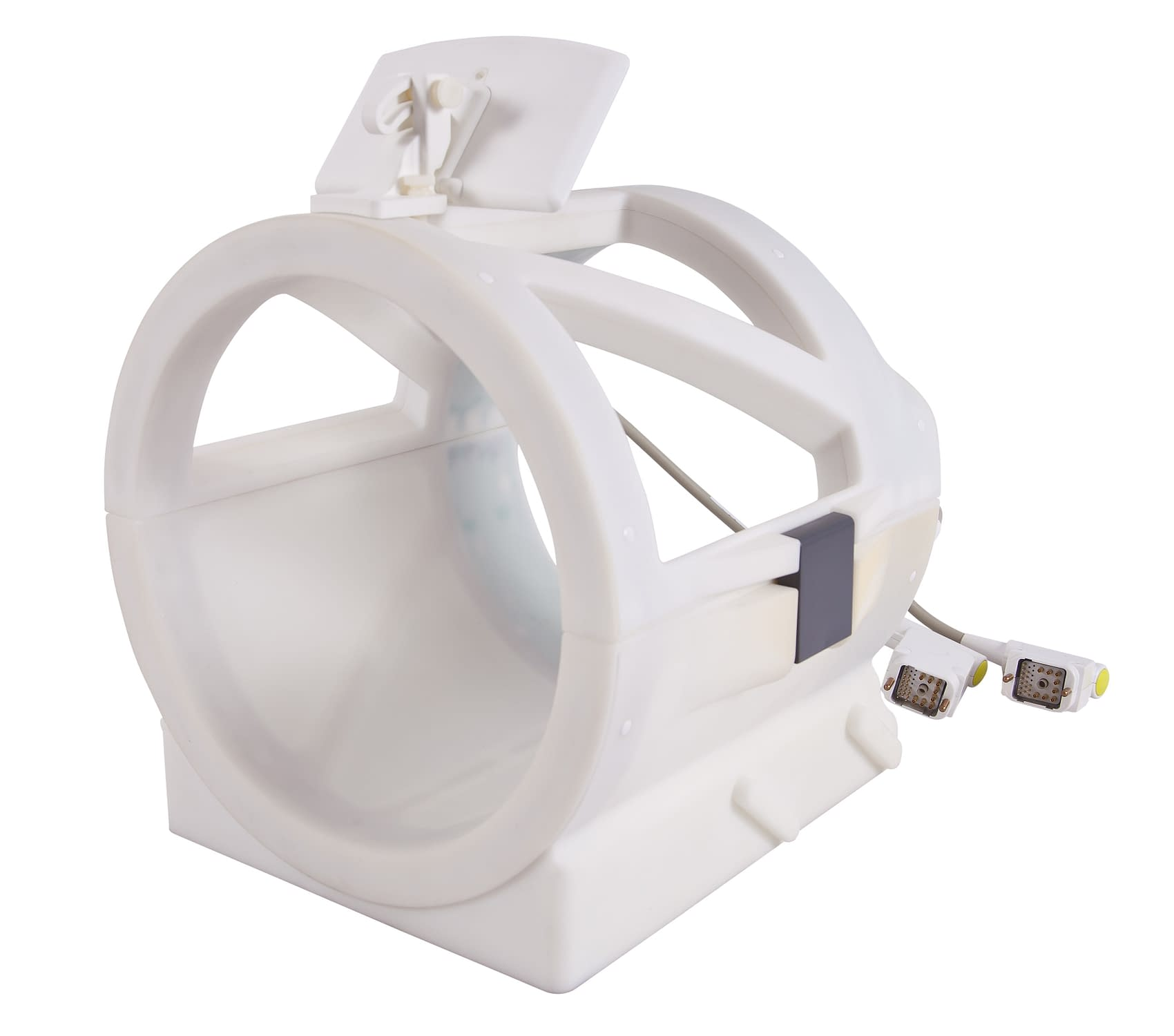 Head RF coil for TMS and/or fMRI applications