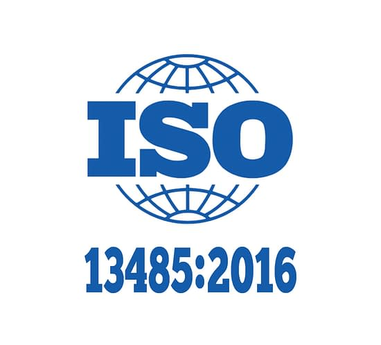 Magnetica ISO Certification 13485:2016 logo